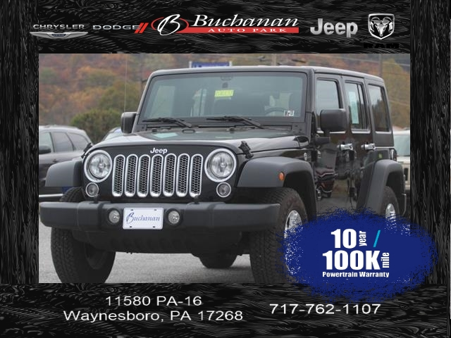 Certified Pre-Owned 2016 Jeep Wrangler Unlimited