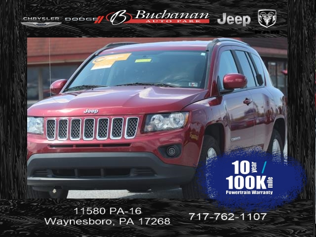 Certified Pre-Owned 2017 Jeep Compass Latitude