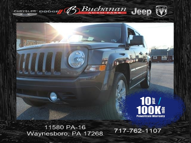 pre-owned 2015 jeep patriot limited 4x4 limited 4dr suv in