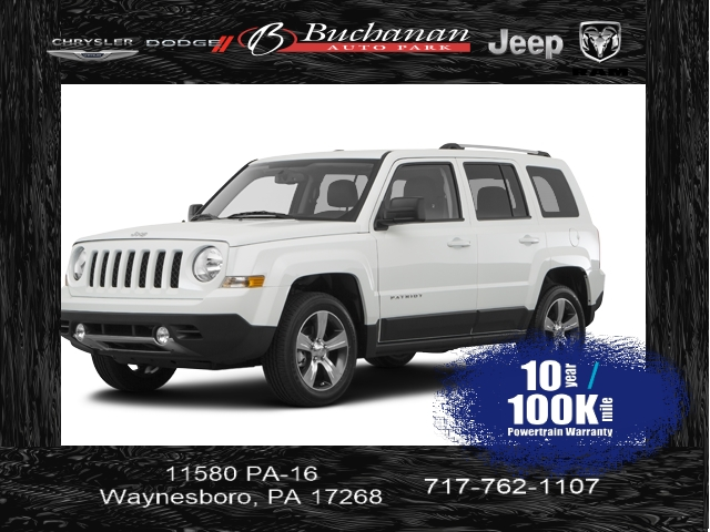 Certified Pre-Owned 2017 Jeep Patriot