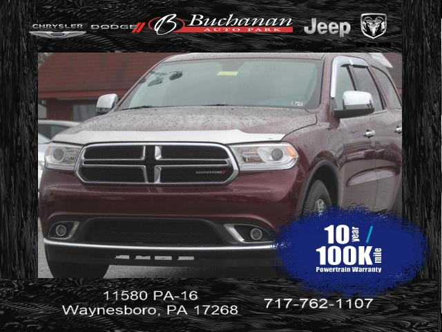 Certified Pre-Owned 2016 Dodge Durango