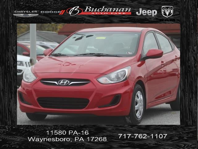 Pre-Owned 2012 Hyundai Accent GLS