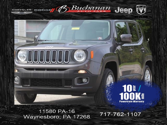 Pre-Owned 2016 Jeep Renegade