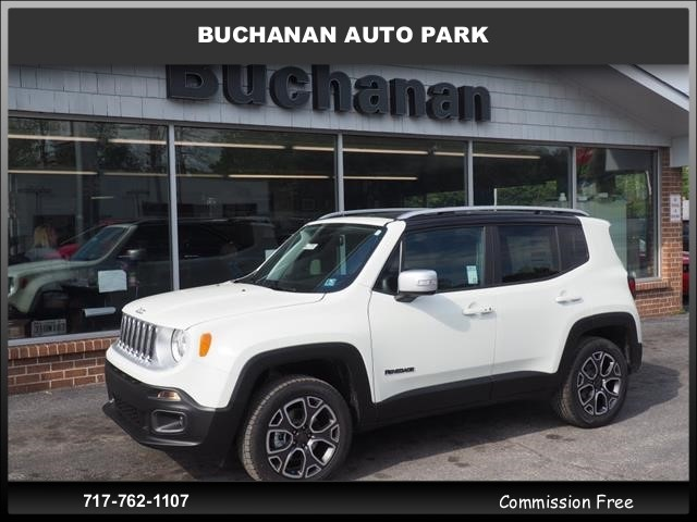 Jeep Renegade Limited >> New 2018 Jeep Renegade Limited Sport Utility In Waynesboro A22282