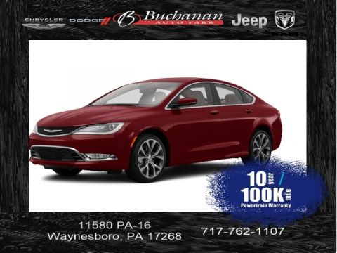 Certified Pre-Owned 2016 Chrysler 200