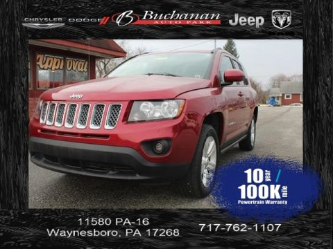 Certified Pre-Owned 2016 Jeep Compass