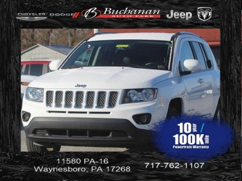 Certified Pre-Owned 2017 Jeep Compass