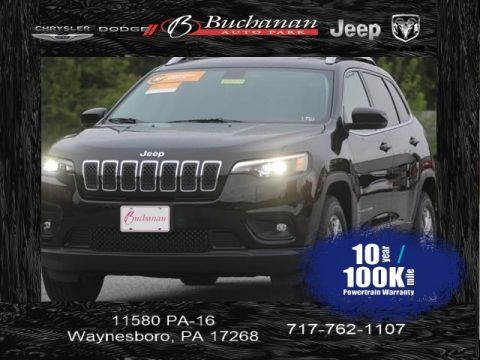 Certified Pre-Owned 2019 Jeep Cherokee