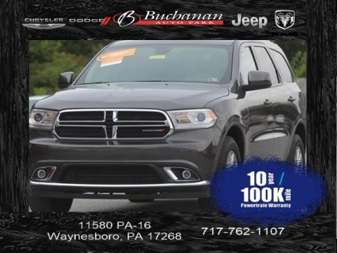 Certified Pre-Owned 2017 Dodge Durango