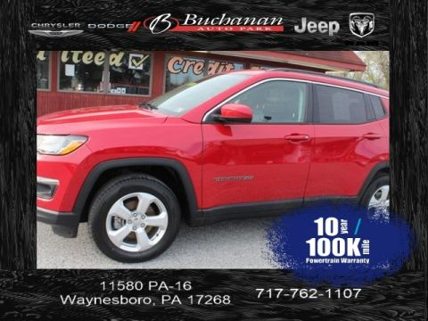 Certified Pre-Owned 2018 Jeep Compass