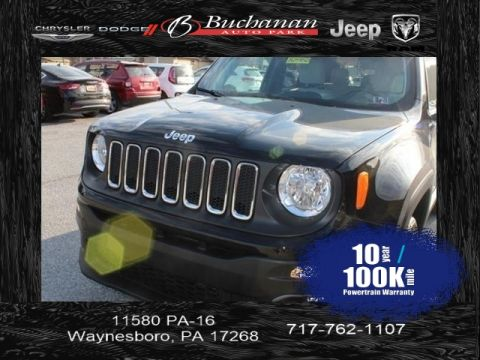 Certified Pre-Owned 2018 Jeep Renegade
