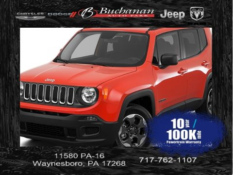 Certified Pre-Owned 2017 Jeep Renegade