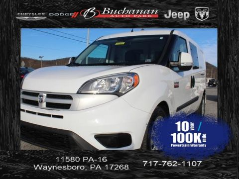 Certified Pre-Owned 2016 RAM ProMaster City Wagon SLT